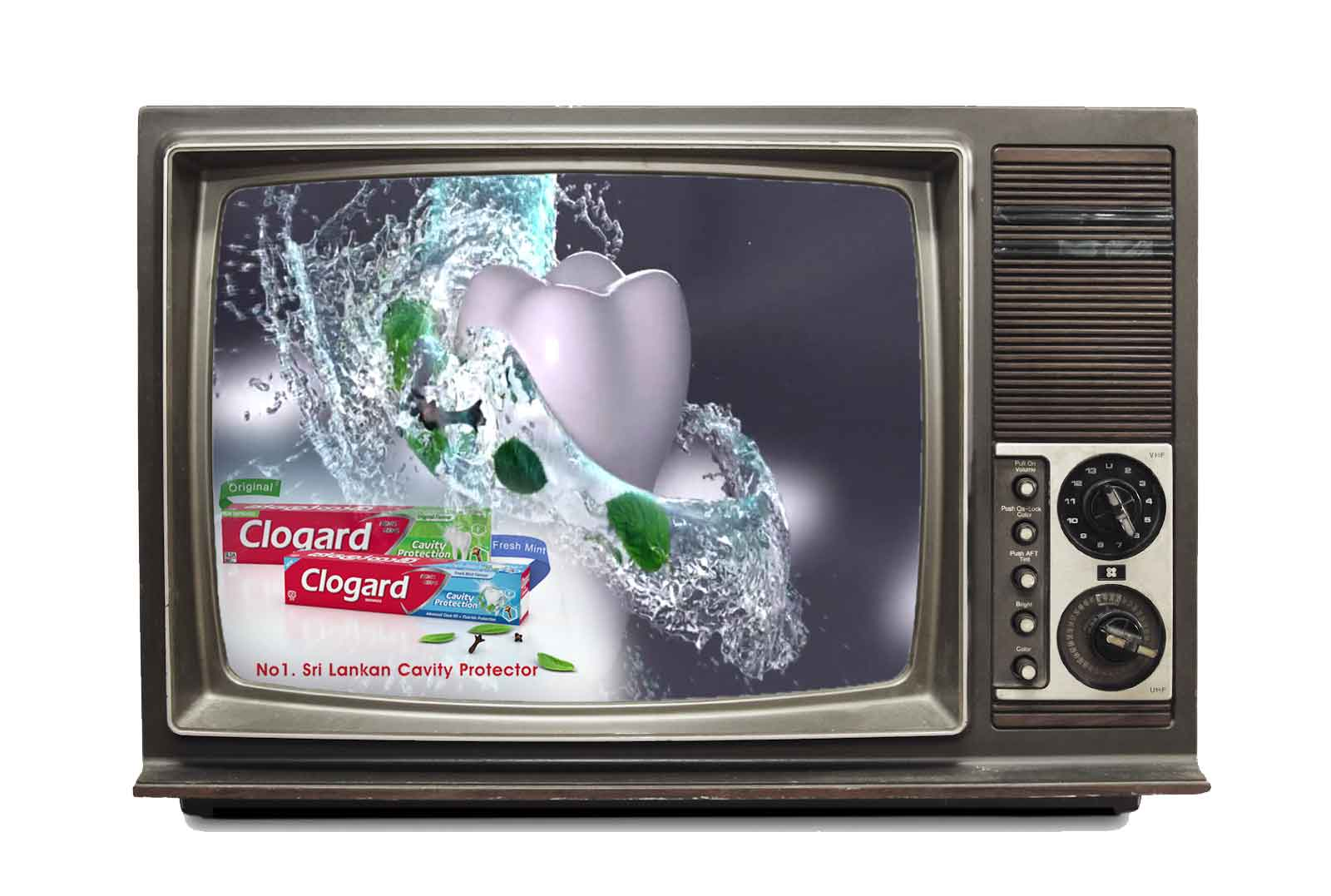 Clogard Fresh Mint 3D TVC